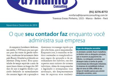 Revista Dynamic – Nov. Dez. 2019